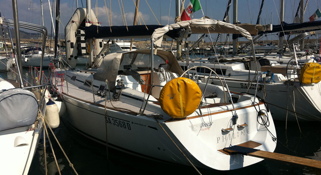 The Grand Soleil 402 boat for sale